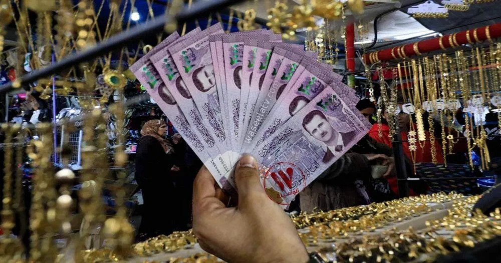 أسعار الذهب والدولار والعملات مقابل الليرة السورية الخميس