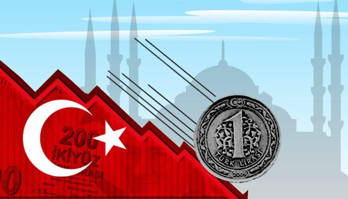 تعرف على أسباب انهيار الليرة التركية المتسارع..!