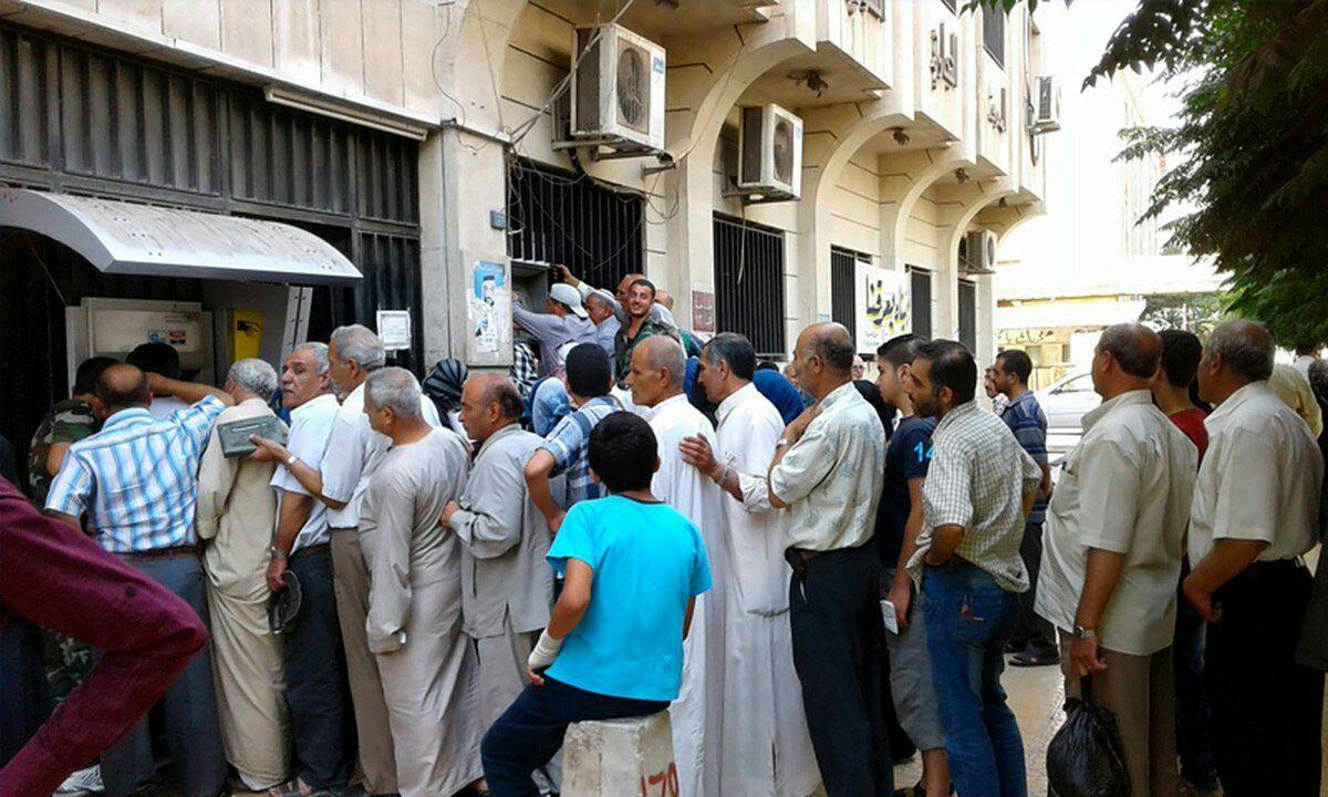 في سوريا صرافات آلية خارج الخدمة