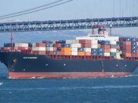 غرق سفينة شحن في بحر إيجه بعد إنقاذ طاقمها السوري