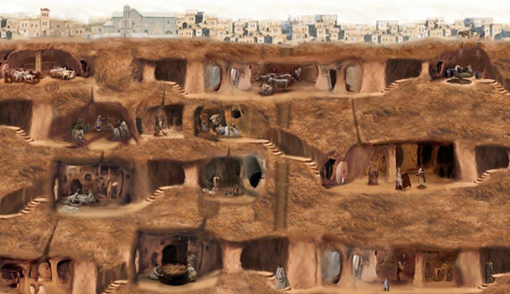 بتصميم عبقري مدينة تركية كاملة تحت الأرض.. هذه قصتها (صور)